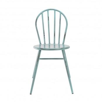 Chaises en métal Juliette - lot 2