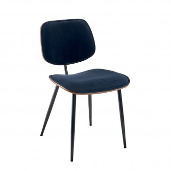 Chaises en velours Olympia - lot de 6