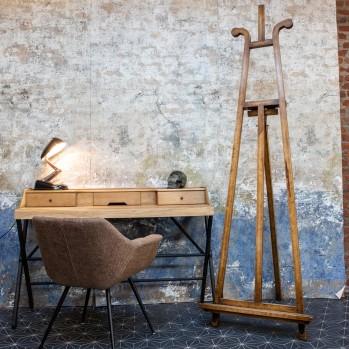 Chevalet d'atelier en bois de chêne véritable