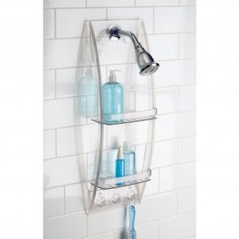 Serviteur de douche à suspendre plastique basic