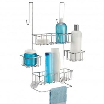 Serviteur de douche à suspendre 4 paniers acier metalo