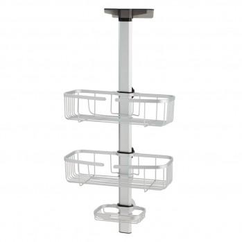 Serviteur de douche ajustable à suspendre aluminium metro