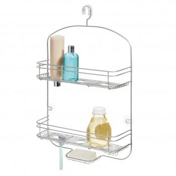 Serviteur de douche à suspendre 2 paniers large bronze weston