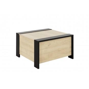 Table basse avec rangement bar Aurora - Fabrication Française
