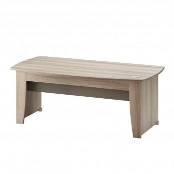 Bureau style industriel bois clair grand surface - Fabrication Française