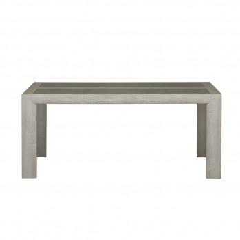 Table à manger rectangulaire 10pers. avec rallonge - fabrication française
