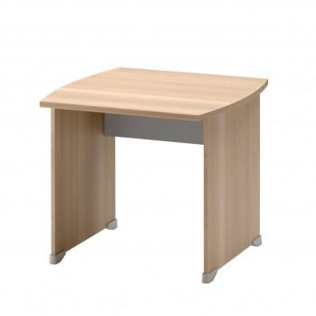 Table de bureau avec patins L80 cm - Fabrication Française