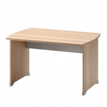 Table de bureau avec patins L140 cm - fabrication française