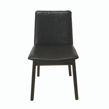 Chaises Art Vinyle Gris - Lot de 2