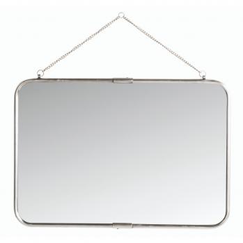 Miroir barbier à chaînette