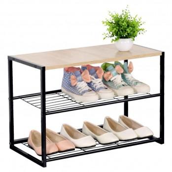 Étagere chaussures 3 niveaux