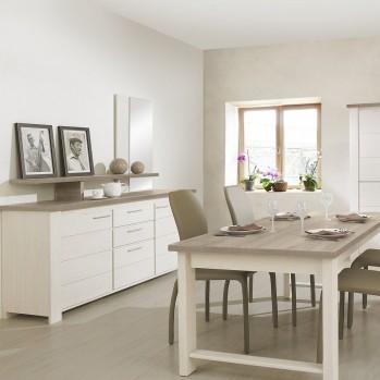 Buffet 2 portes 3 tiroirs Toscane - Fabrication Française