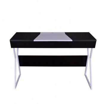 Bureau noir et blanc design contemporain