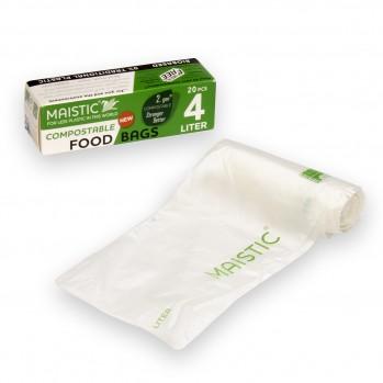 Sachets de conservation alimentaire bioplastique compostable