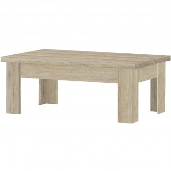 Table basse rectangulaire en MDF