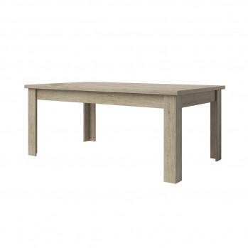 Table à manger chêne clair grisé Axel