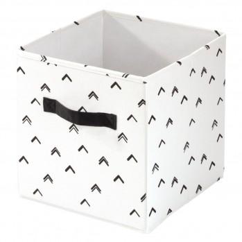 Cube de rangement 26x26cm chevron arrow