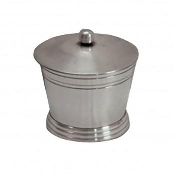 Petite boîte à coton en laiton