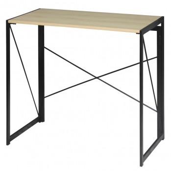 Bureau pliable style industriel - Longueur 100 cm