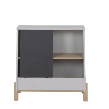 Rangement 1 porte coulissante Eliott - Fabrication Française