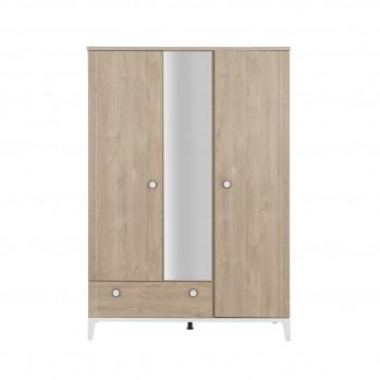 Armoire 3 portes 1 tiroir Marcel - Fabrication Française