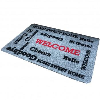 """Tapis d'entrée """"Welcome"""""""