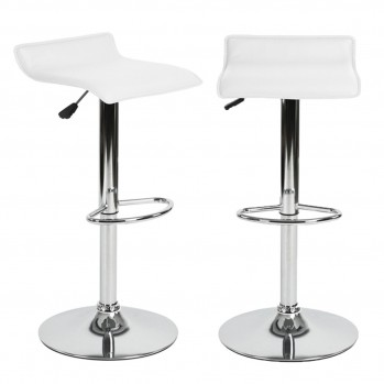 Lot de 2 tabourets de bar Design
