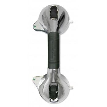 Poignée haute sécurité à 2 ventouses pour douche et baignoire