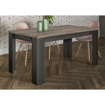 Table à manger extensible 160-240cm - 8 pers.