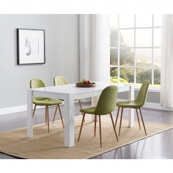 Table à manger 170 cm - 6 pers.