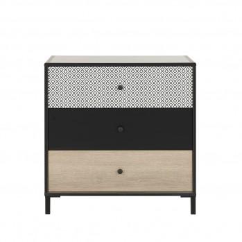 Commode 3 tiroirs Jakarta - Fabrication Française