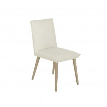 Lot de 2 chaises pilo decor chataigner naturel - Fabrication Française