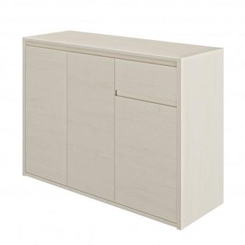 Rangement 3 portes 1 tiroir essentiel - Fabrication Française