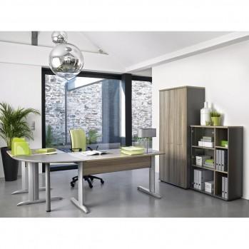 Rangement haut 2 portes vitrées Jazz - Fabrication Française