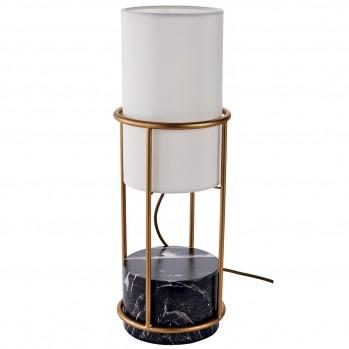 Lampe métal tissu Chaillot