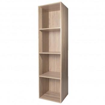 Meuble 4 cases avec fond 32 x 30 x 125 cm - Label FSC - CASAME