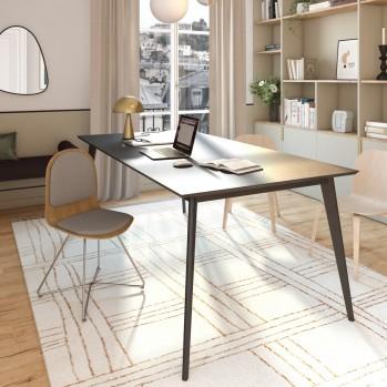 Chaise chêne avec rembourrage - Fabrication Française
