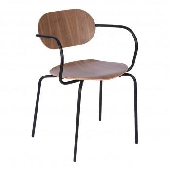 Chaise en noyer – Fabrication Française