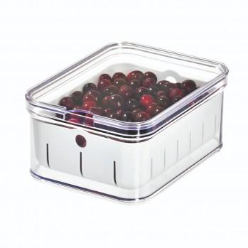 Boite empilable avec panier pour réfrigérateur