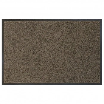 Tapis eco-clean brun 60x120cm