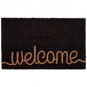 Paillasson Welcome noir 45x75 cm