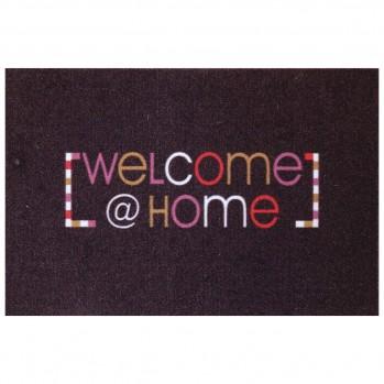 Tapis d'entrée motif Welcome@home 50x80cm