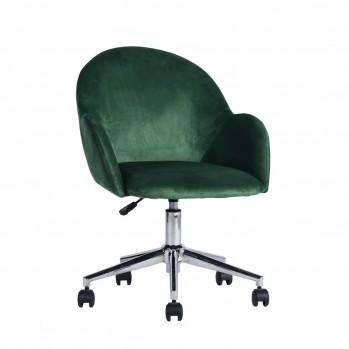 Chaise de bureau à roulettes avec accoudoirs