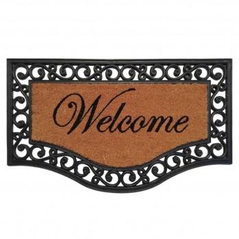 Paillasson arabesque Welcome 45x75cm