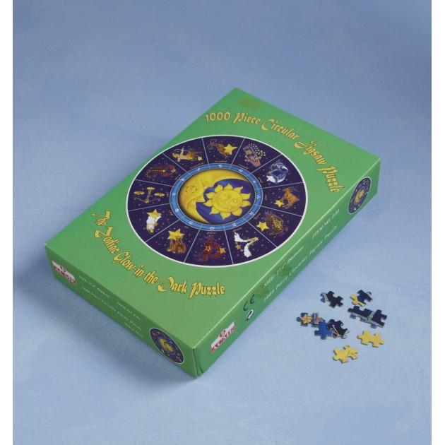 Puzzle rond signes du zodiaque phospho