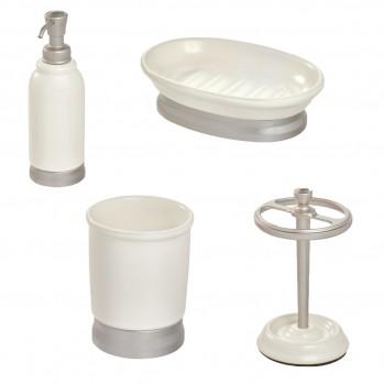 Ensemble accessoires de lavabo pour salle de bain - BEXLEY