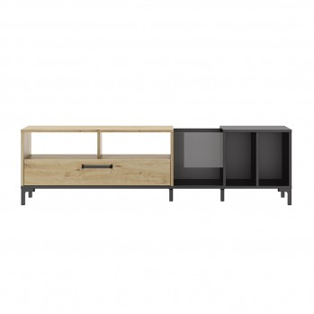 Meuble TV et Vinyles ARGUIN  L190 cm - Fabrication Française