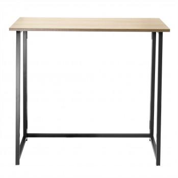Bureau pliable style industriel - Longueur 80 cm