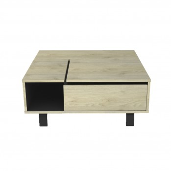 Table basse plateau relevable RUSH - Fabrication Française