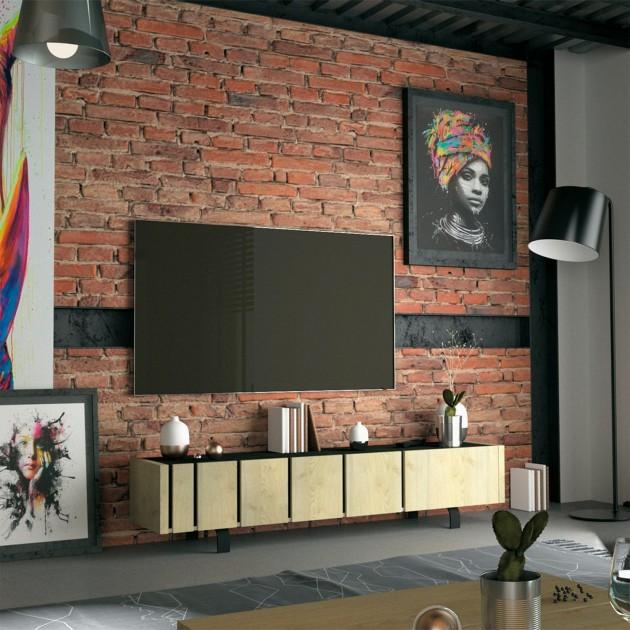 Meuble TV 3 portes RUSH - Fabrication Française